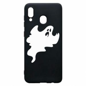 Phone case for Samsung A30 Scary ghost - PrintSalon