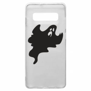 Phone case for Samsung S10+ Scary ghost - PrintSalon