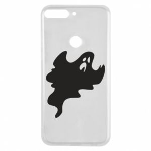 Phone case for Huawei Y7 Prime 2018 Scary ghost