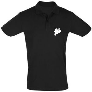 Men's Polo shirt Scary ghost - PrintSalon