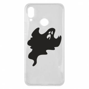 Phone case for Huawei P Smart Plus Scary ghost - PrintSalon