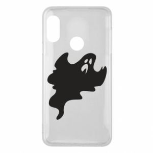 Phone case for Mi A2 Lite Scary ghost - PrintSalon