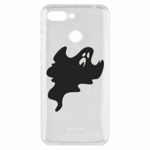 Phone case for Xiaomi Redmi 6 Scary ghost - PrintSalon