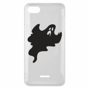 Phone case for Xiaomi Redmi 6A Scary ghost - PrintSalon