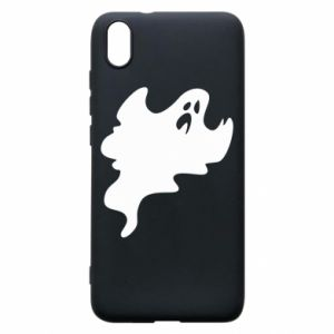 Phone case for Xiaomi Redmi 7A Scary ghost - PrintSalon
