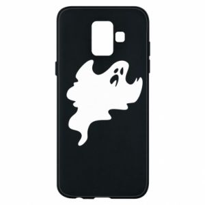 Phone case for Samsung A6 2018 Scary ghost - PrintSalon