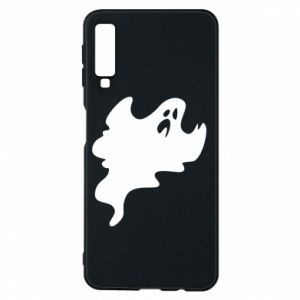 Phone case for Samsung A7 2018 Scary ghost - PrintSalon