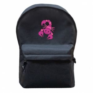 Backpack with front pocket Scorpio
