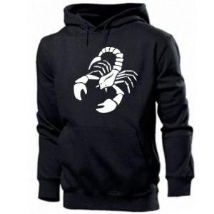 Męska bluza z kapturem Scorpio