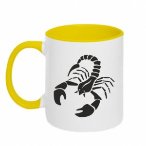 Two-toned mug Scorpio
