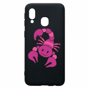 Phone case for Samsung A40 Scorpio