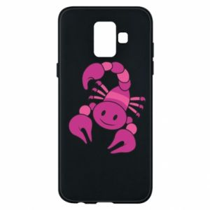 Phone case for Samsung A6 2018 Scorpio