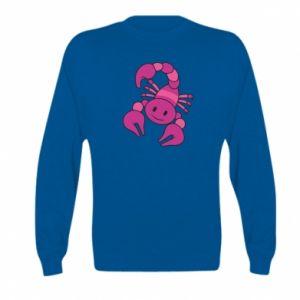Kid's sweatshirt Scorpio