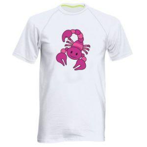 Men's sports t-shirt Scorpio