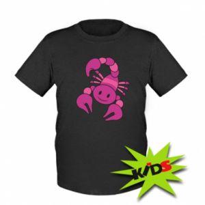 Dziecięcy T-shirt Scorpio