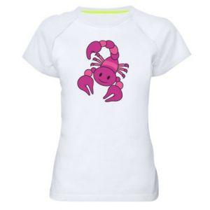 Women's sports t-shirt Scorpio