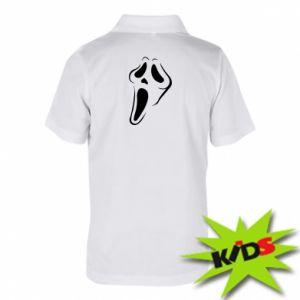 Children's Polo shirts Scream - PrintSalon