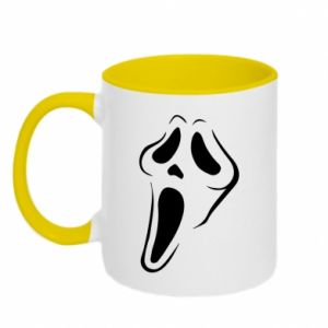 Two-toned mug Scream - PrintSalon