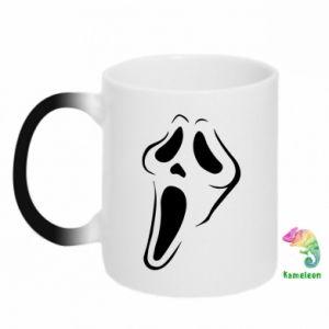 Chameleon mugs Scream - PrintSalon