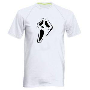 Men's sports t-shirt Scream