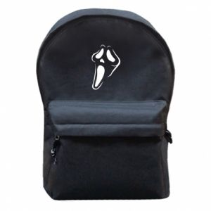 Backpack with front pocket Scream