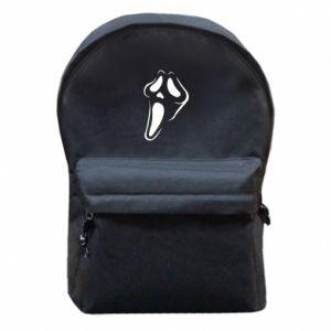 Backpack with front pocket Scream - PrintSalon