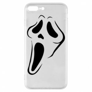 Phone case for iPhone 8 Plus Scream - PrintSalon