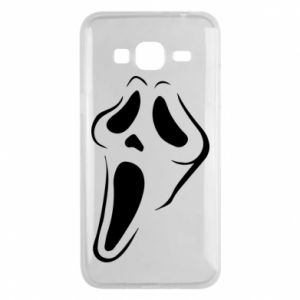 Phone case for Samsung J3 2016 Scream - PrintSalon
