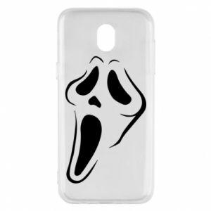 Phone case for Samsung J5 2017 Scream - PrintSalon