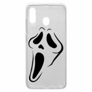 Phone case for Samsung A20 Scream