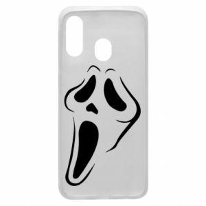 Phone case for Samsung A40 Scream - PrintSalon