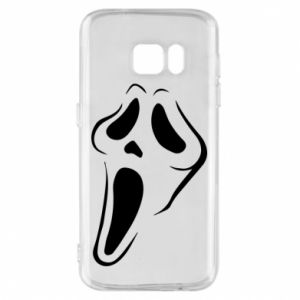 Phone case for Samsung S7 Scream
