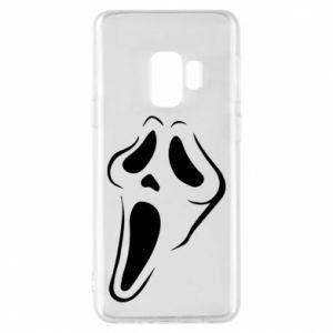 Phone case for Samsung S9 Scream - PrintSalon