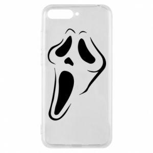 Phone case for Huawei Y6 2018 Scream - PrintSalon