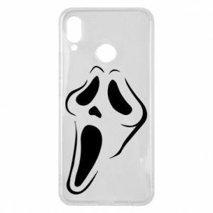 Phone case for Huawei P Smart Plus Scream - PrintSalon
