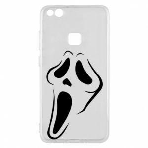 Phone case for Huawei P10 Lite Scream - PrintSalon