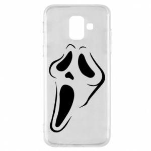Phone case for Samsung A6 2018 Scream - PrintSalon