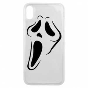 Phone case for iPhone Xs Max Scream - PrintSalon