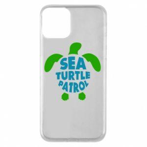 Etui na iPhone 11 Sea turtle patrol