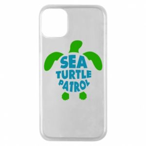 Etui na iPhone 11 Pro Sea turtle patrol