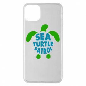 Etui na iPhone 11 Pro Max Sea turtle patrol
