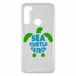 Etui na Xiaomi Redmi Note 8 Sea turtle patrol