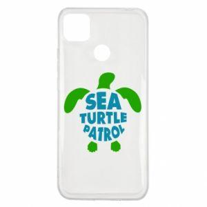 Etui na Xiaomi Redmi 9c Sea turtle patrol