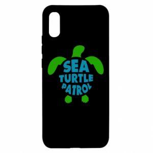 Etui na Xiaomi Redmi 9a Sea turtle patrol