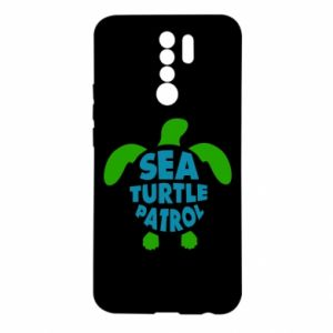 Etui na Xiaomi Redmi 9 Sea turtle patrol