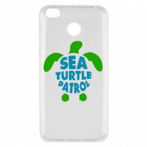 Etui na Xiaomi Redmi 4X Sea turtle patrol