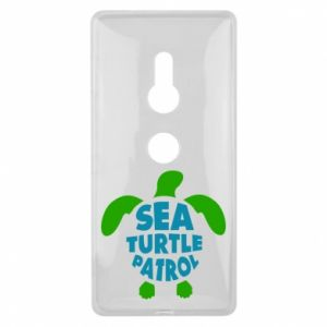 Etui na Sony Xperia XZ2 Sea turtle patrol