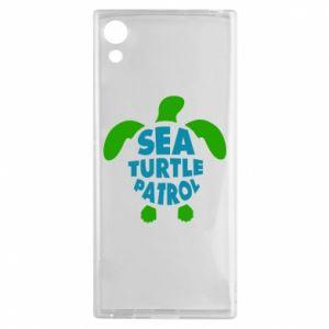 Etui na Sony Xperia XA1 Sea turtle patrol