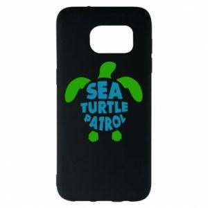 Etui na Samsung S7 EDGE Sea turtle patrol