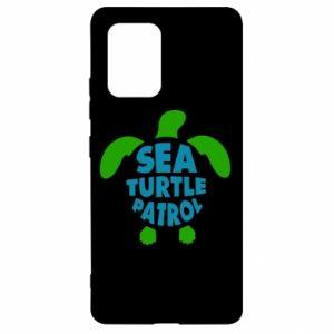 Etui na Samsung S10 Lite Sea turtle patrol